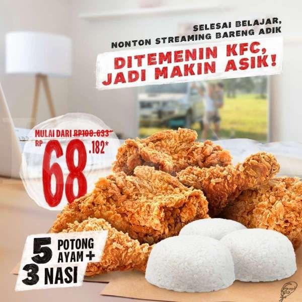 Promo <a href='https://madura.tribunnews.com/tag/kfc' title='KFC'>KFC</a> 2-31 Maret 2021