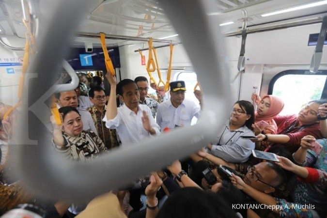 Jokowi approves Rp 571 trillion in Greater Jakarta infrastructure projects