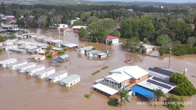Australia alami banjir terparah dalam 60 tahun, ribuan orang dievakuasi