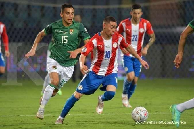 Hasil laga Paraguay vs Bolivia di Copa America 2021