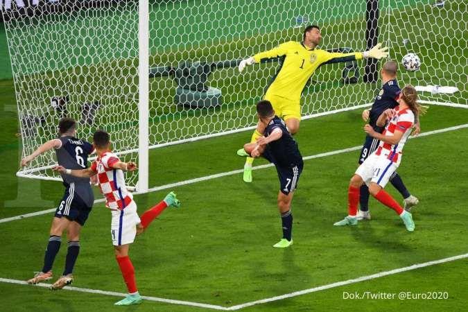 Hasil Euro 2020 Kroasia vs Skotlandia di Grup D