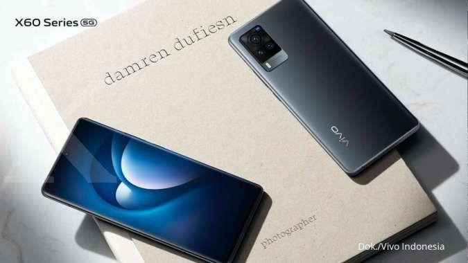 Resmi meluncur di Indonesia, harga HP Vivo X60 dibanderol Rp 7,9 jutaan