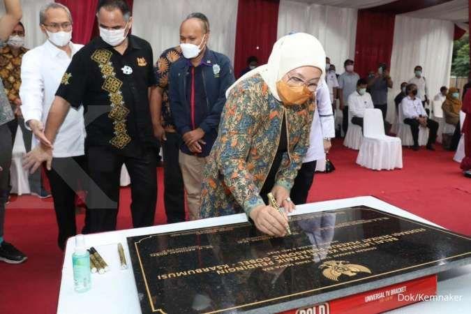 Menaker Ida Fauziyah resmikan Balai Latihan Kerja Komunitas milik serikat pekerja