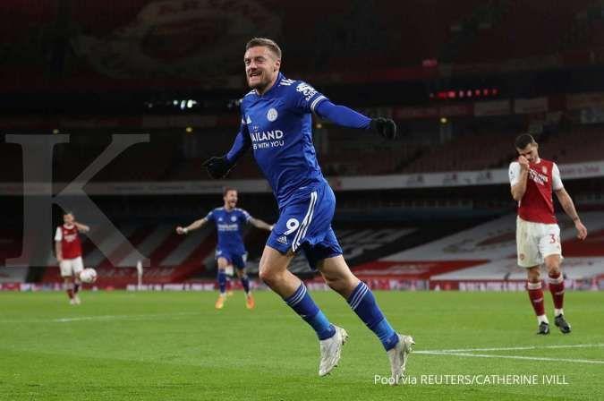 Southampton vs Leicester City: Kans The Foxes nyaman di 3 besar Liga Inggris