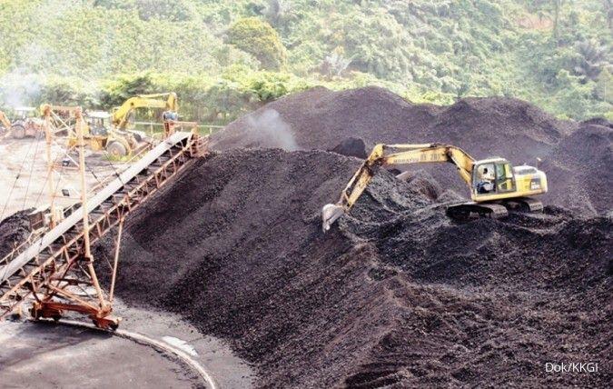 Resource Alam Indonesia (KKGI) menargetkan produksi 3,6 juta ton batubara tahun ini
