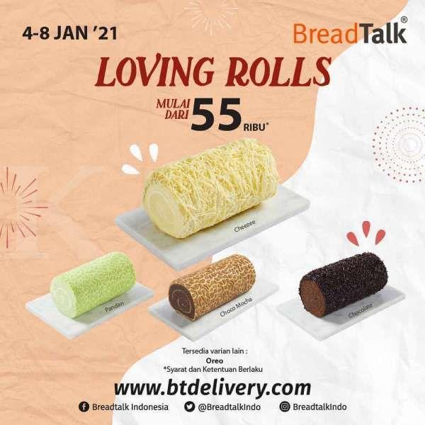 Promo BreadTalk 4-8 Januari 2021