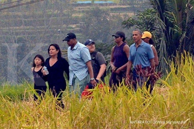Di Ubud, Obama berdoa untuk perdamaian dunia
