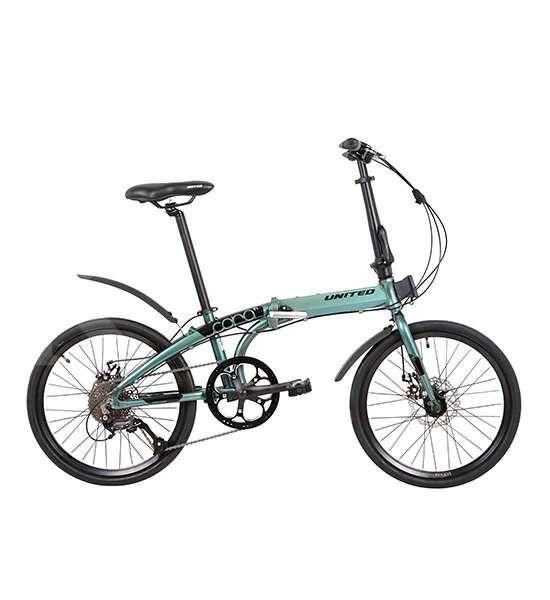 Tampil macho, harga sepeda lipat United Cora 2020 ringan di kantong