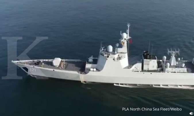 Jaga Laut China Selatan, 1 kapal selam dan 2 kapal perang utama China resmi bertugas
