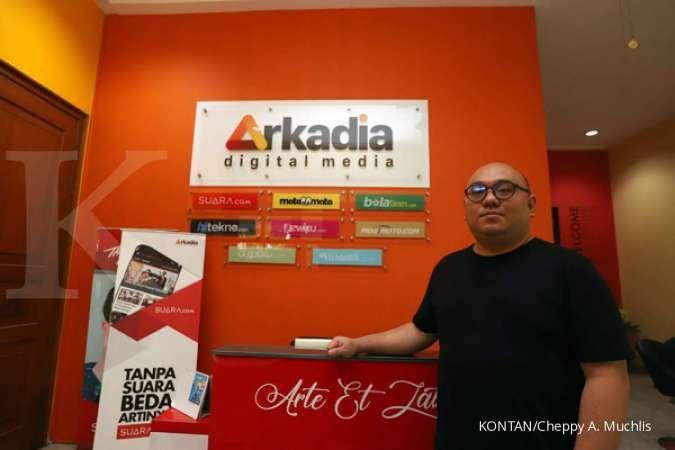 Arkadia (DIGI) bakal tambah 16 sampai 21 situs media di 2021