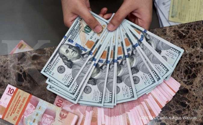 Perkasa, rupiah Jisdor menguat 0,31% ke Rp 14.271 per dolar AS pada Senin (7/6)