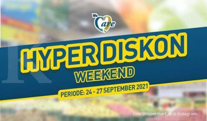 Promo Hypermart terbaru di 27 September 2021, potongan harga menjelang akhir bulan
