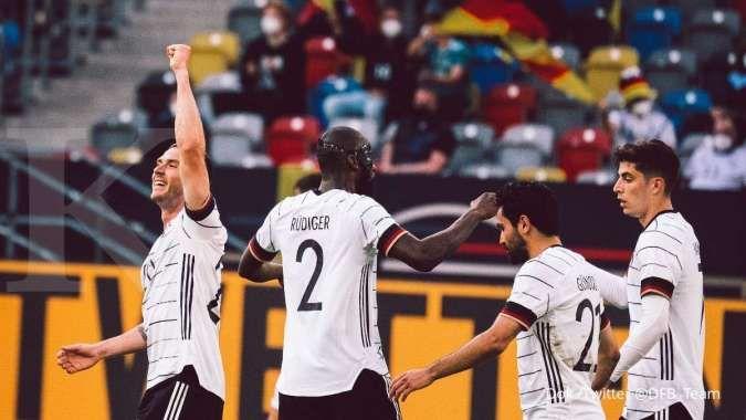 Jerman vs Latvia: Der Panzer menang telak 7-1 kontra Tim Baltik jelang Euro 2021