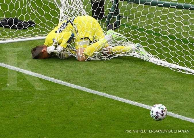 Hasil Euro 2021: Gol Spektakuler Patrik Schick bawa Ceko unggul 2-0 atas Skotlandia
