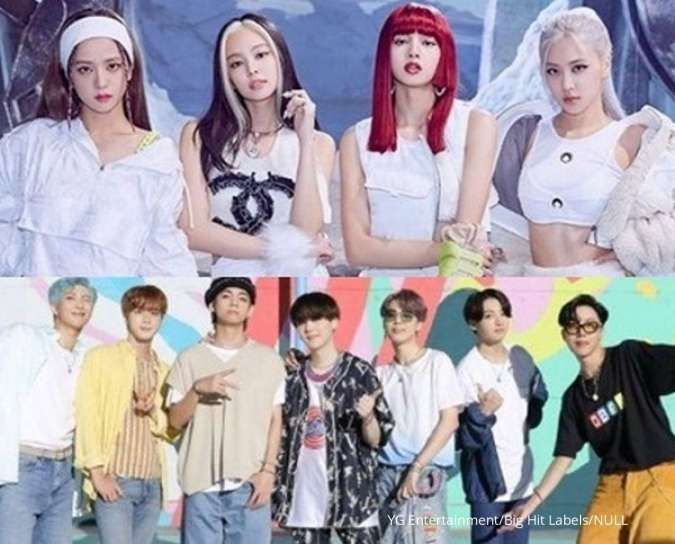 Inilah peringkat penyanyi Korea terpopuler Agustus 2020, Blackpink atau BTS juaranya?