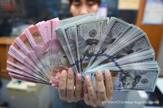 Rupiah Jisdor menguat 0,2% ke Rp 14.102 per dolar AS pada Jumat (11/12)
