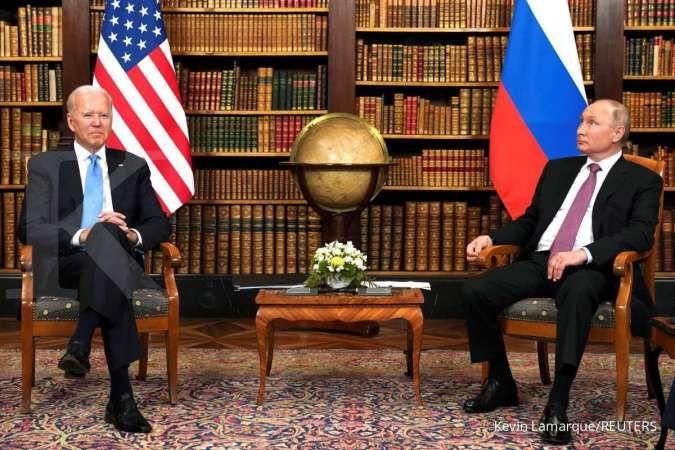 KTT AS-Rusia: Biden dan Putin bicarakan keamanan siber hingga kontrol senjata
