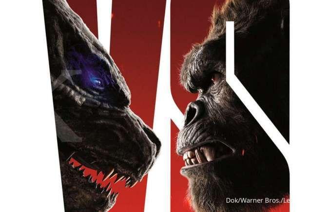 Godzilla vs Kong rilis poster baru, siap tayang di bioskop dan HBO Max Maret 2021
