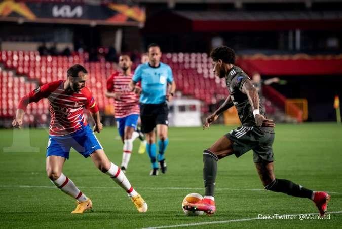 Hasil laga Granada vs Man United di Liga Europa