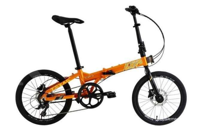 Masih tersedia, intip dulu harga sepeda lipat Police Texas Teh Botol Sosro terkini