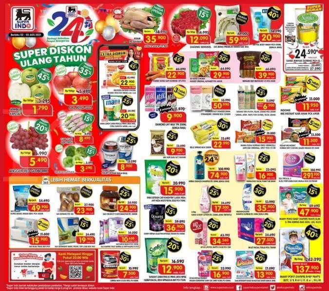 Katalog Superindo 2-5 Agustus 2021