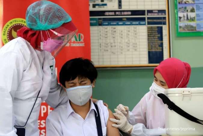UPDATE Vaksinasi Covid-19, Rabu (21/7): Vaksinasi lengkap baru 7,97% dari target