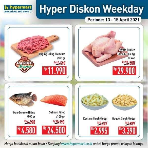 Paling baru! Promo Hypermart weekday 13-15 April 2021, Hyper Diskon