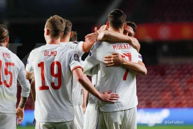 Jelang laga Spanyol vs Kosovo di Kualifikasi Piala Dunia 2022