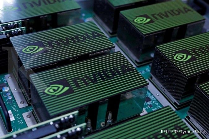 Nvidia. REUTERS/Tyrone Siu/File Photo GLOBAL BUSINESS WEEK AHEAD