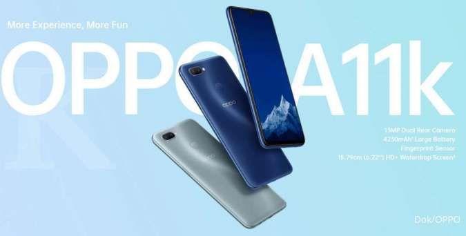 jagoan HP murah terbaru dari OPPO: Spesifikasi dan harga HP OPPO A11k
