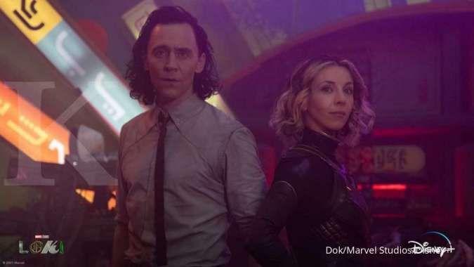 Ini kata sutradara soal Loki dan Sylvie tampilkan adegan romantis di episode akhir