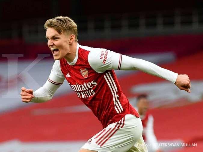 Jelang laga Arsenal vs Slavia Praha di Liga Europa