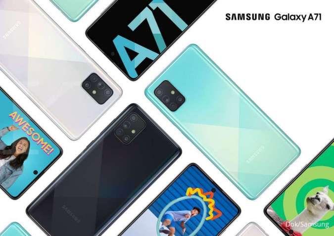 Spesifikasi & harga Samsung A71: Mid-range andalan Samsung dibanderol Rp 5 jutaan