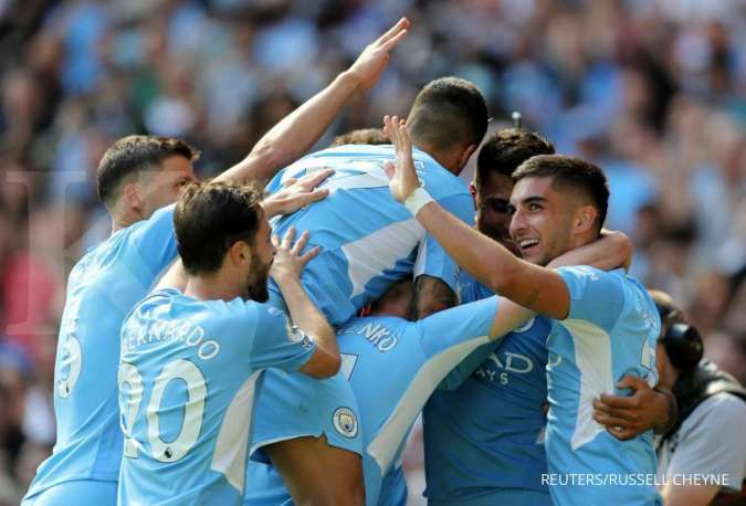 Jadwal Liga Inggris Man City vs Southampton: The Citizens waspadai The Saints
