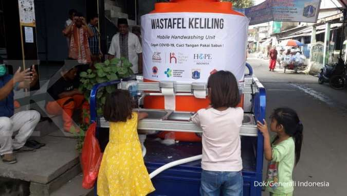 Cegah corona, Generali Indonesia bagikan masker gratis
