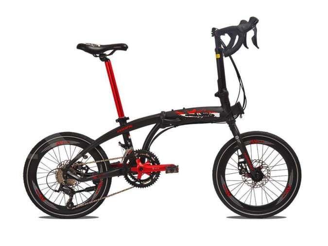 Sporty banget, harga sepeda lipat Pacific Noris 8.0 tak ramah di kantong