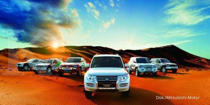 Setelah disuntik mati, Mitsubishi Pajero kini tersisa 800 unit di seluruh dunia