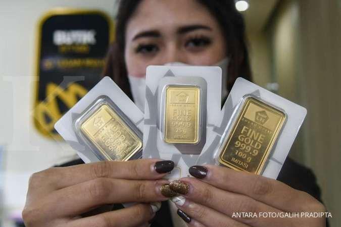 Harga emas Antam hari ini tetap di Rp 948.000 per gram pada Minggu (13/6)