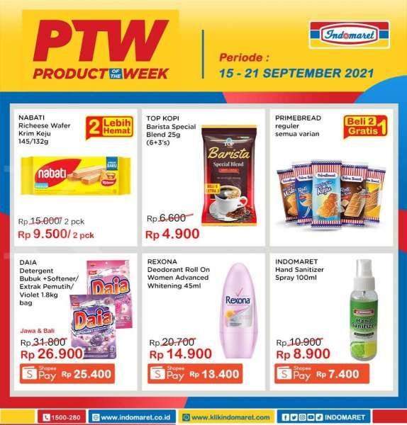 Promo Indomaret PTW 15-21 September 2021