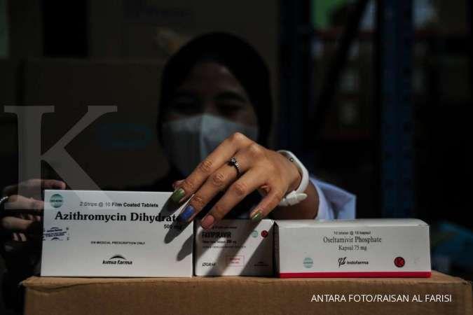 Presiden Jokowi perintahkan Menkeu tambah anggaran obat gratis pasien isolasi mandiri