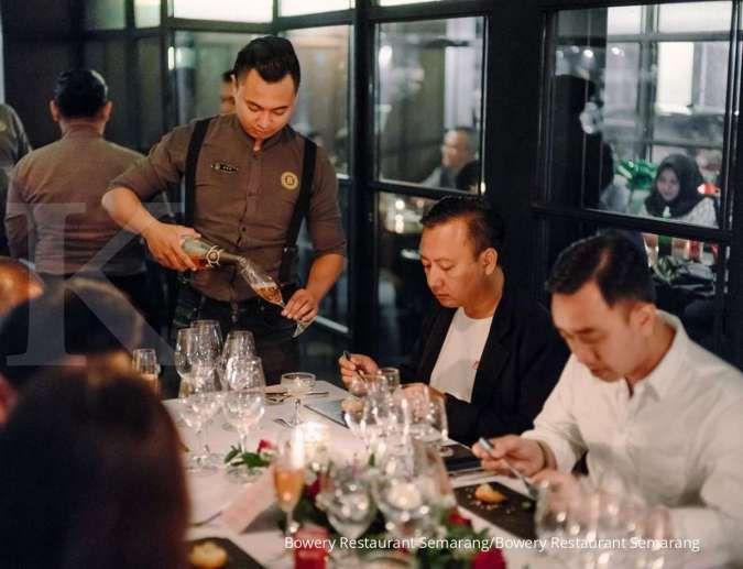 Bowery Restaurant, restoran di Semarang berkonsep fine dining