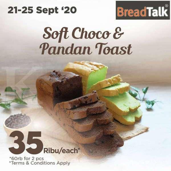 Promo BreadTalk periode 21-25 September 2020
