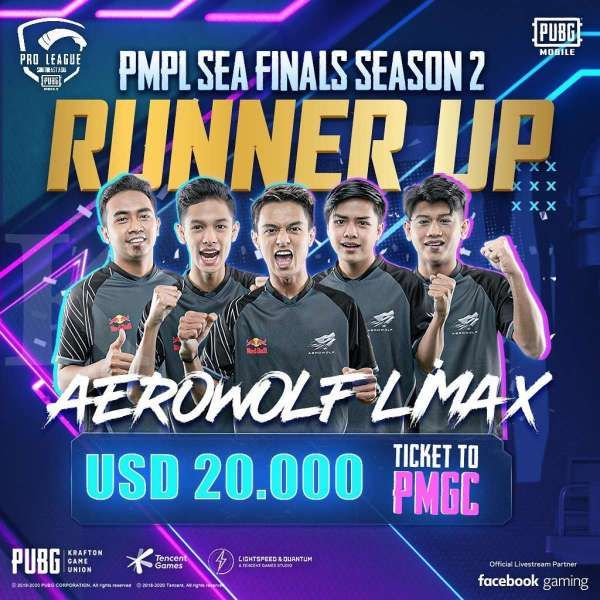 Aerowolf Limax di PMPL SEA Final Season 2