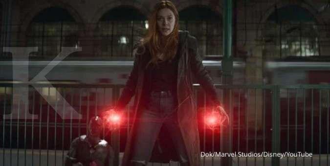 Ini 2 alasan Elizabeth Olsen bersedia menjadi Wanda, superhero Marvel