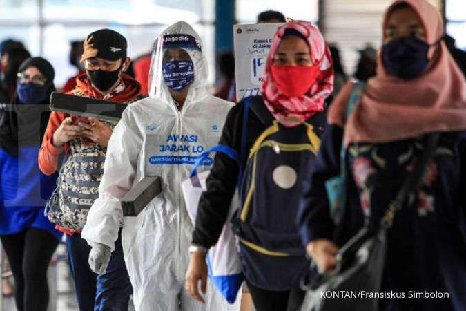 UPDATE corona di Jakarta Senin 27 Juli, positif 19.592 , sembuh 11.997 meninggal 769