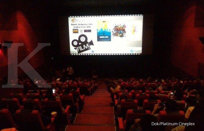 Platinum Cineplex mencatat kenaikan penonton sekitar 45% selama lebaran kemarin