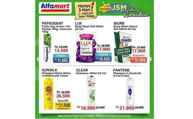 Promo <a href='https://jambi.tribunnews.com/tag/jsm-alfamart' title='JSM Alfamart'>JSM Alfamart</a> 2-4 <a href='https://jambi.tribunnews.com/tag/april-2021' title='April 2021'>April 2021</a>