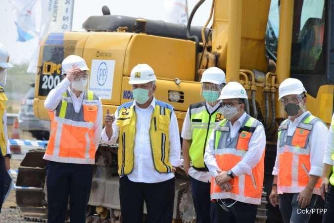 Groundbreaking proyek jalan tol akses BIJB Kertajati olek PTPP
