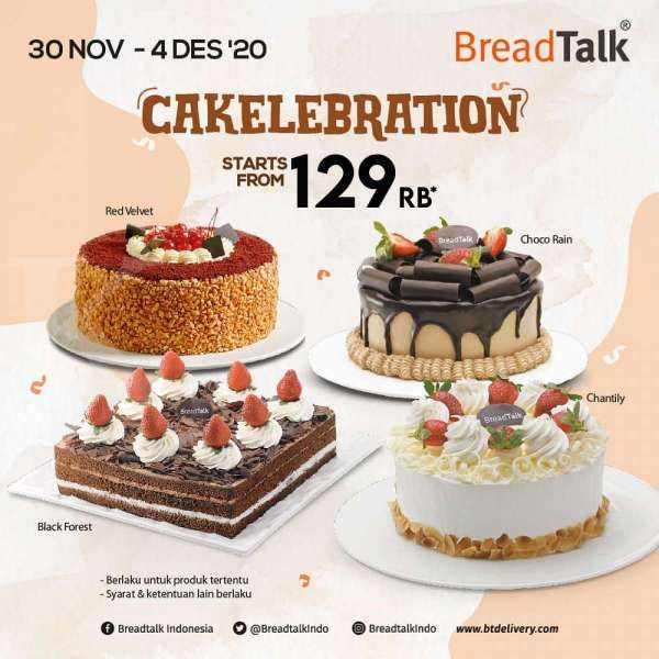 Promo BreadTalk periode 30 November-4 Desember 2020