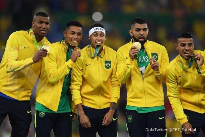 Jadwal sepak bola Olimpiade Tokyo 2020 pekan ini, ada Brasil vs Jerman